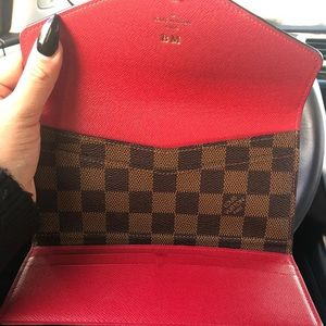 LV AUTHENTIC wallet and card holder